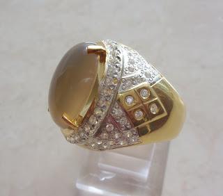 Batu Bertuah, Benda Pusaka, Mustika Asli, Mustika Cincin kladen emas sugali asli