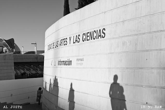 Fotografías en la Ciudad de las Artes y las Ciencias.