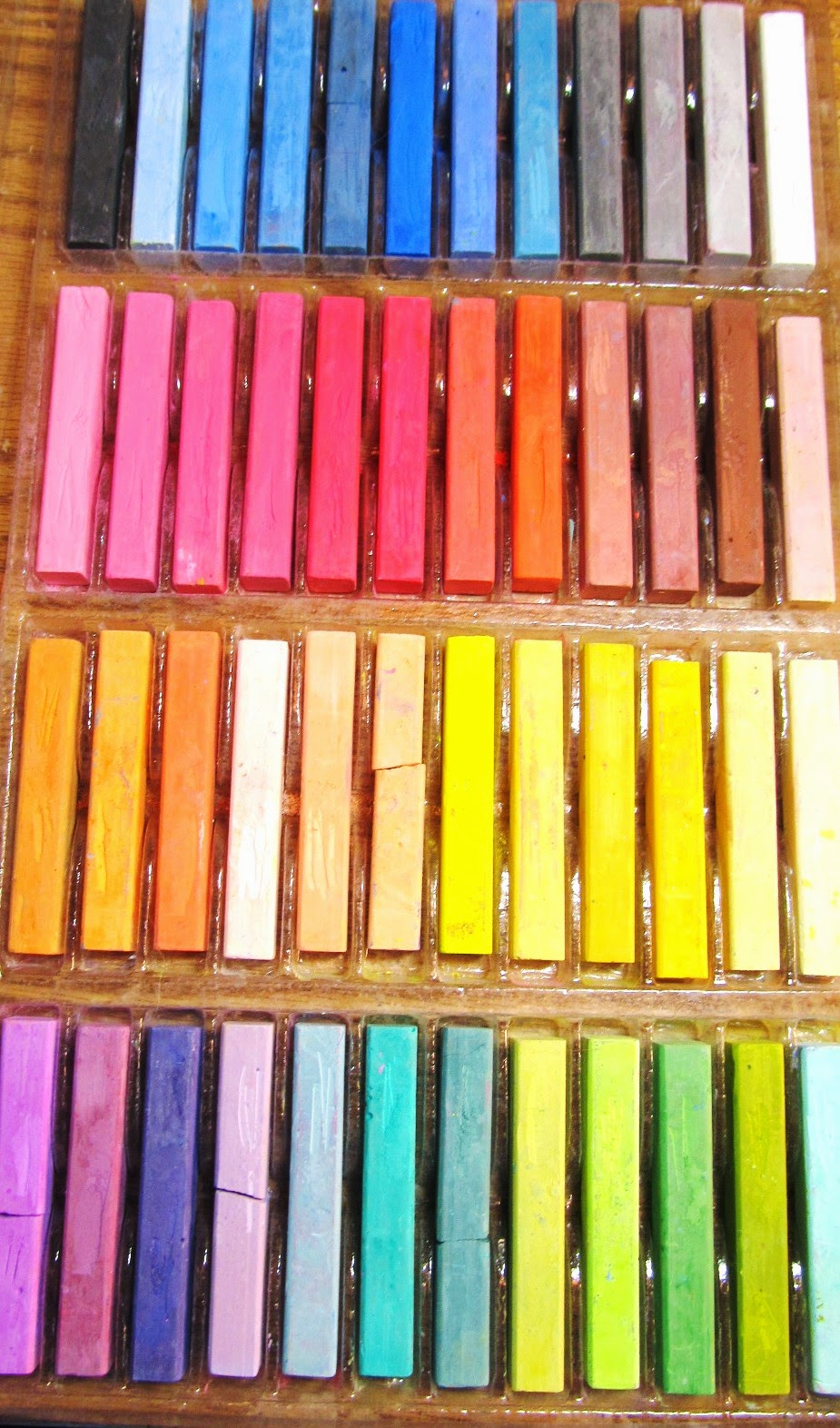 hard pastels set
