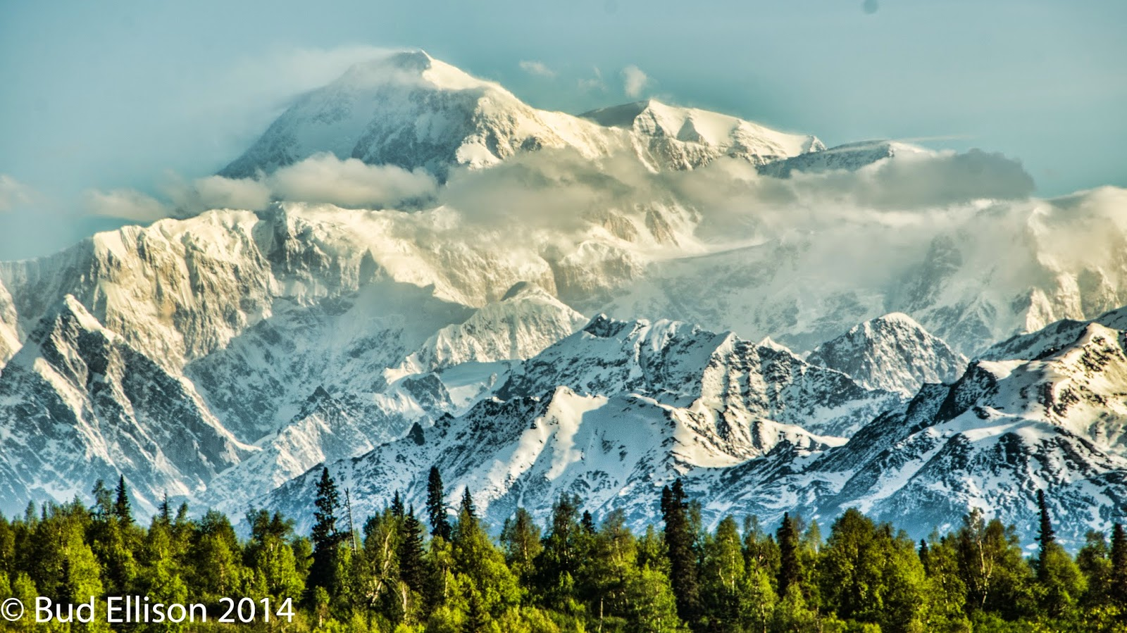 Mt. McKinley on 6/3/2014 at 6:35 AM
