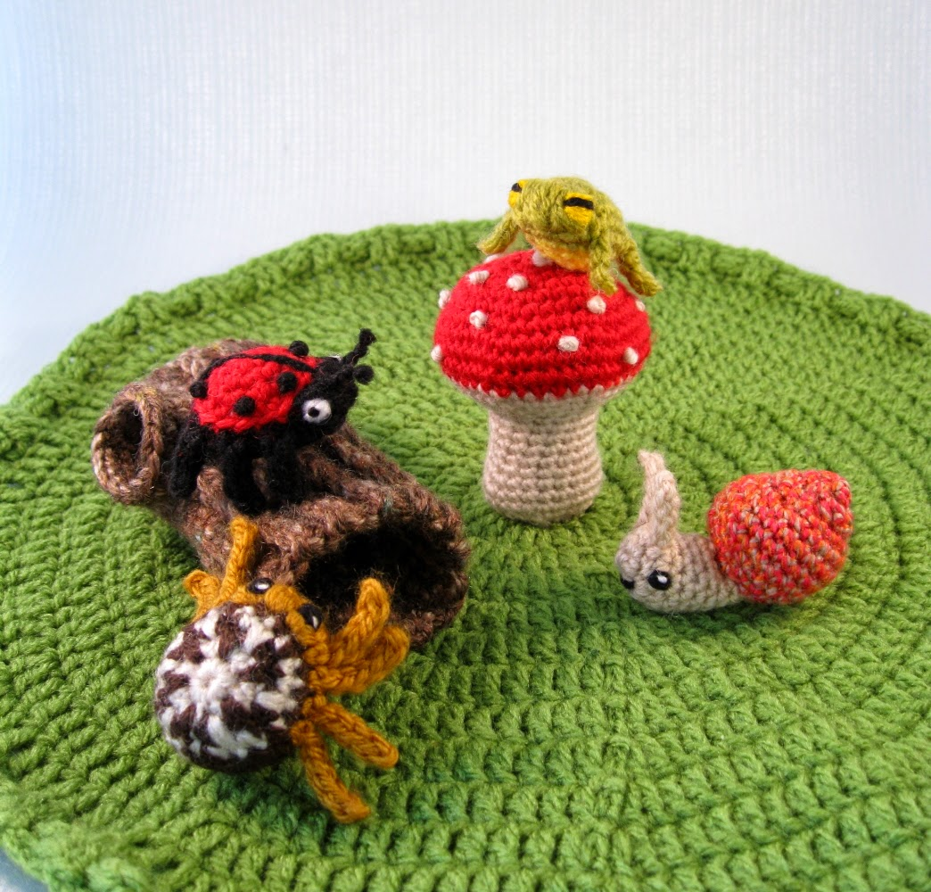 LucyRavenscar - Crochet Creatures: Mini Pets - Snails ...