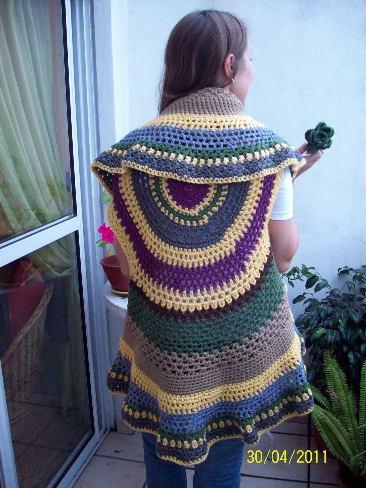 chalecos largos tejidos al crochet 300