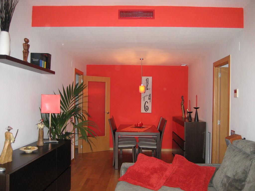 Decoracion actual de moda casas pintadas de rojo for Decoracion de casa x dentro