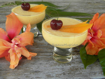 Mango and Rockmelon Vegan Mousse