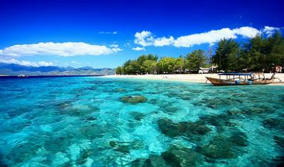 Pulau Bali di Indonesia Agung di Pulau Bali