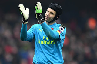 EPL: How Chelsea legend, Didier Drogba reacted to Arsenal goalkeeper, Petr Cech's retirement
