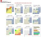 Calendario escolar 2016-7