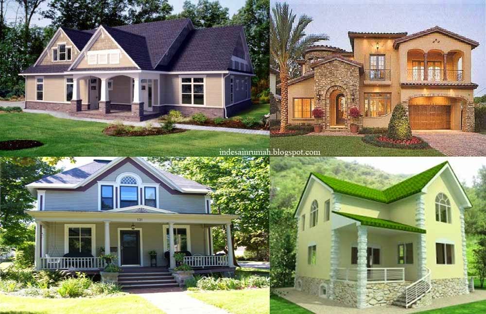 contoh model desain rumah sederhana gaya eropa & Desain Rumah Sederhana Ala Eropa Classic dan Simpel Mudah Dibangun