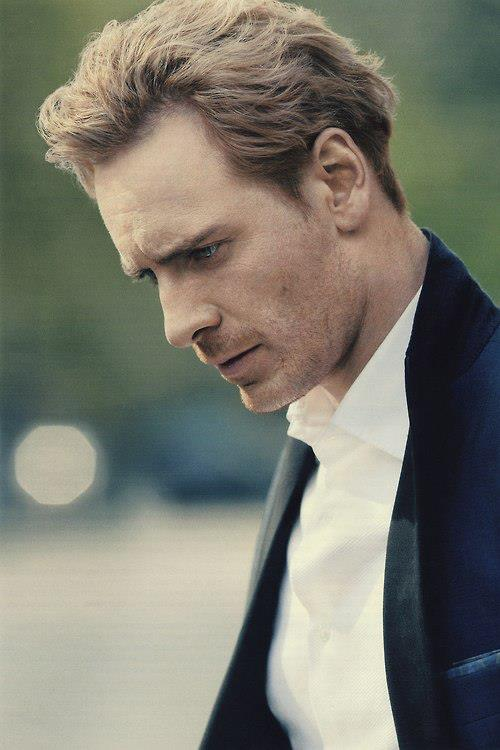 MOVIE hunk Michael Fassbender's face will be hidden under a giant