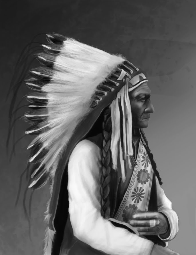 Portrait of an american Indian ChiefAmerican Indian Chief