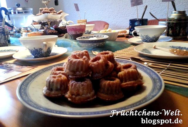 Teaparty - Karamell Gugl und Himbeer-Kokos Gugl