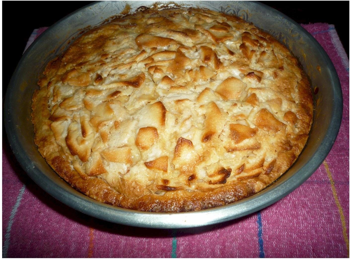 tarta de manzanas mil hojas