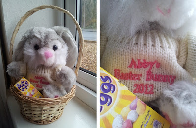Cadbury's, Easter bunny, personalised easter rabbit