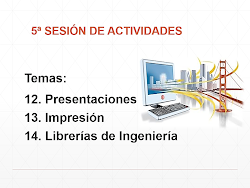 DGAPA PRESENTACIÓN DE LA 5a SESIÓN