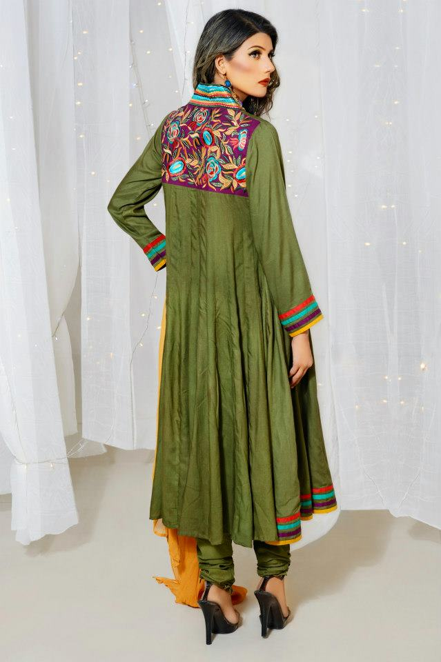 Pakistani girls fashion latest 2013.