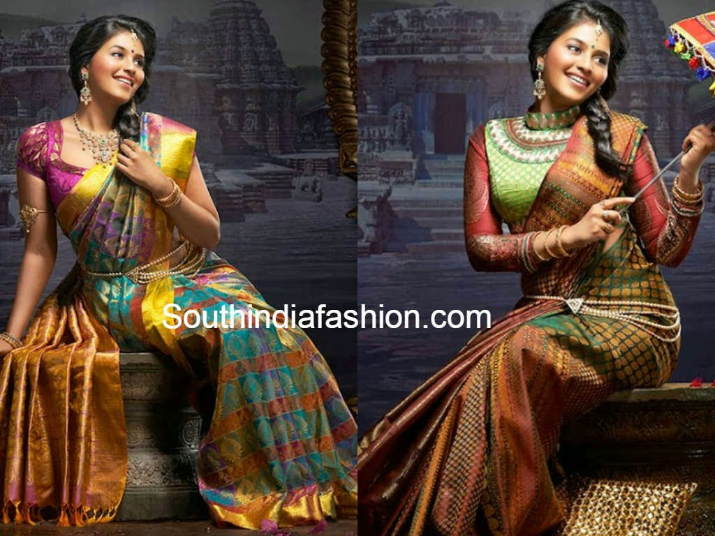 anjali south indian shopping mall sarees ad