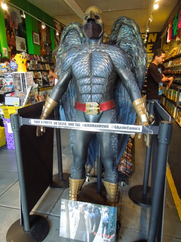 Original Birdman superhero costume