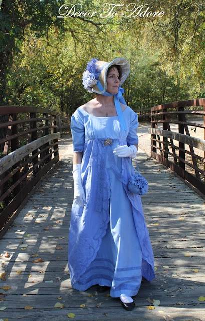 A Complete Regency Costume for under $10