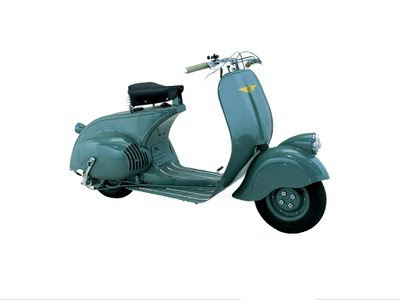 Gambar Prototype Vespa MP6