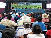 (Fotos) Cumbre de los Pueblos y Comunidades en Lucha contra el Extractivismo