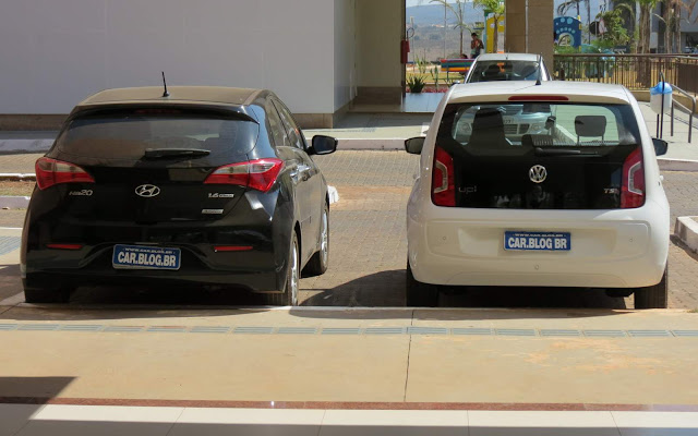 Volkswagen Up! TSi x Hyundai Hb20 1.6