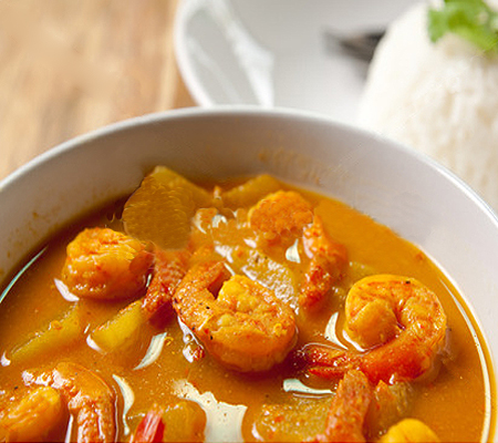 Thai Red Curry Shrimp and Vegetables Recipes