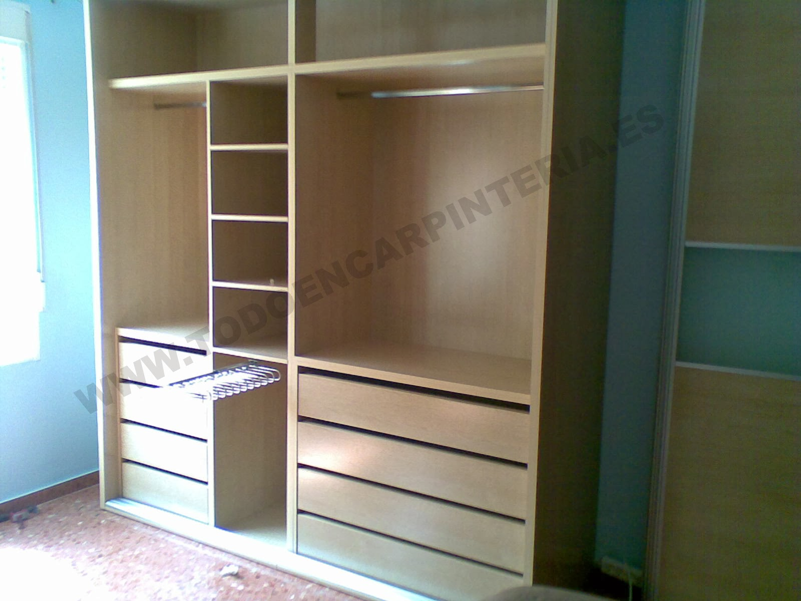 Feira Artesanato Em Ingles ~ Interior de armario grande TODO EN CARPINTER u00cdA