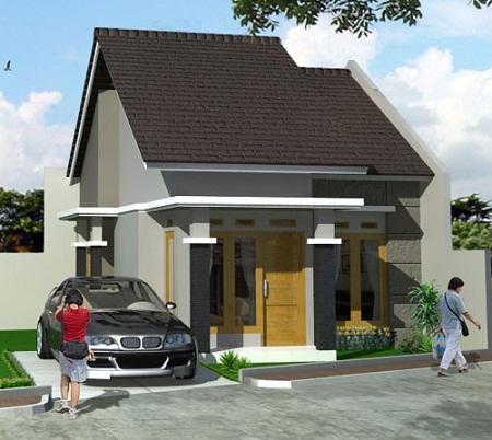 rumah minimalis sederhana on Rumah Minimalis Sederhana yang elegan dengan hadapan badan jalan ...