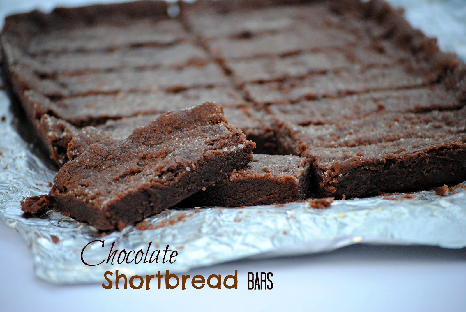 Chocolate Shortbread Bars