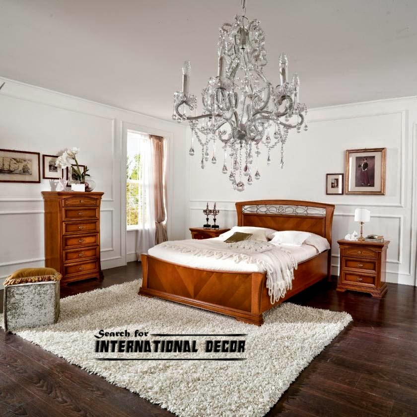 Luxury italian bedroom and furniture in classic style for Italian bedroom furniture