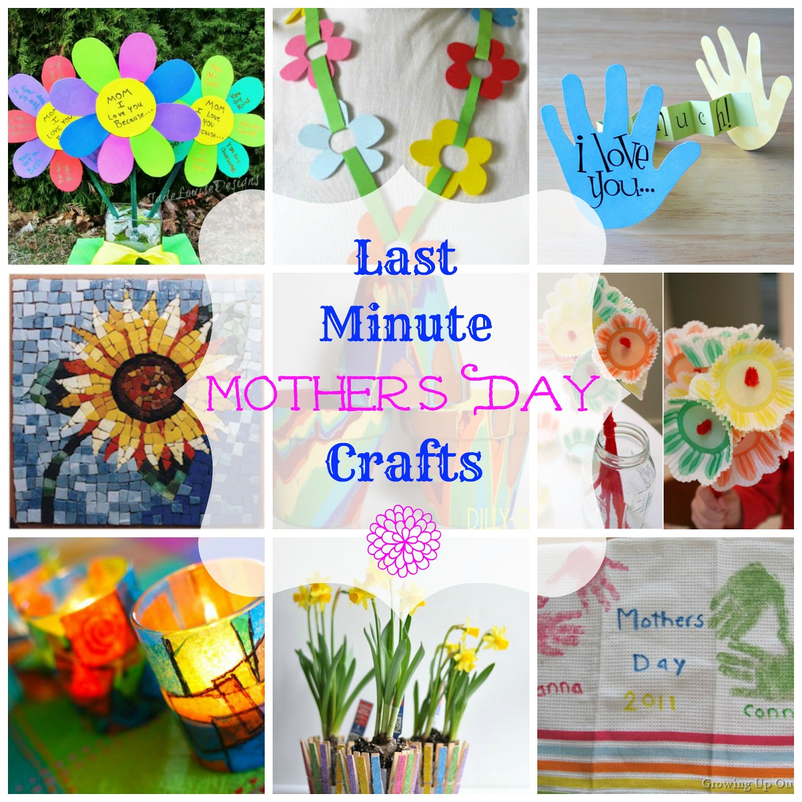 Easy last minute mother 39 s day craft ideas worthing court for Easy craft projects for mother s day