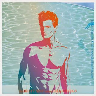 Garrett Neff in The Swim Suite, swimwear editorial by Kai Karenin