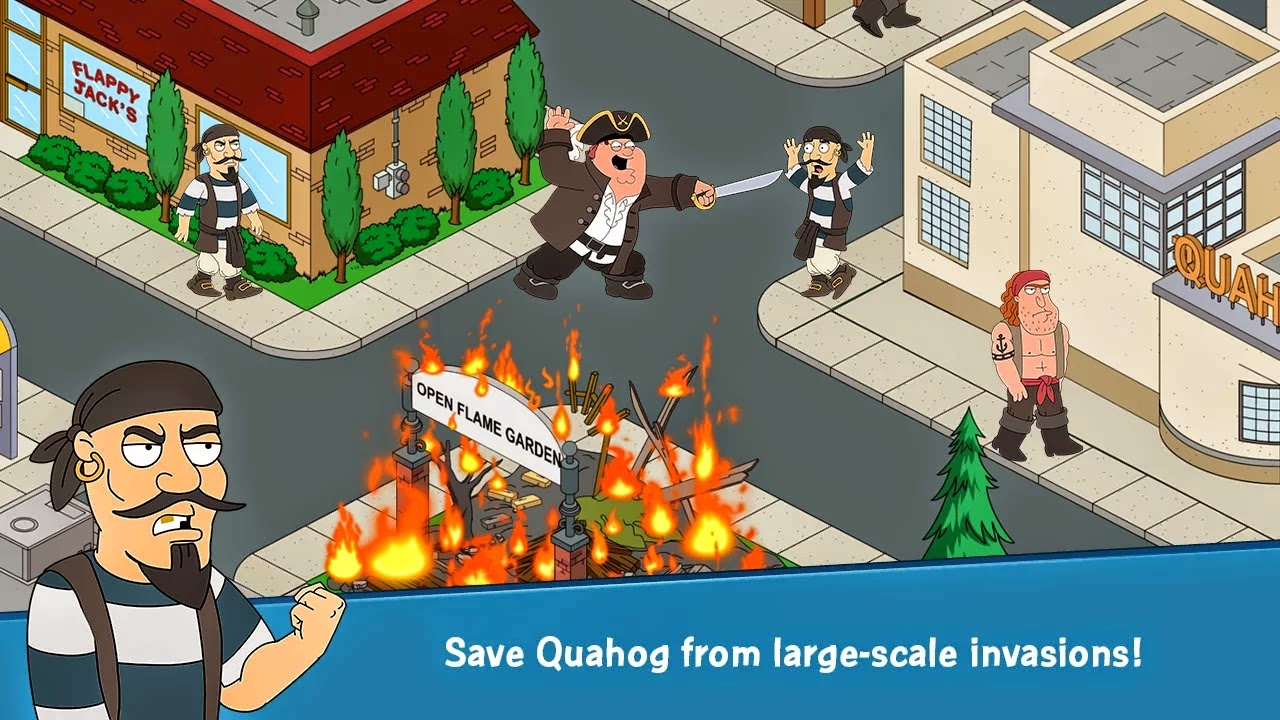Family Guy The Quest for Stuff v1.2.2 Mod [Free Shopping]