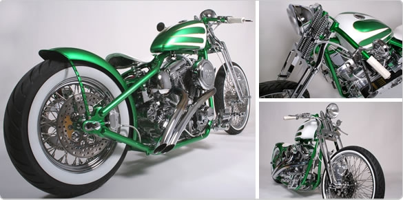 Custom Green Motorcycle Paint Schemes 585 x 291 · 118 kB · jpeg