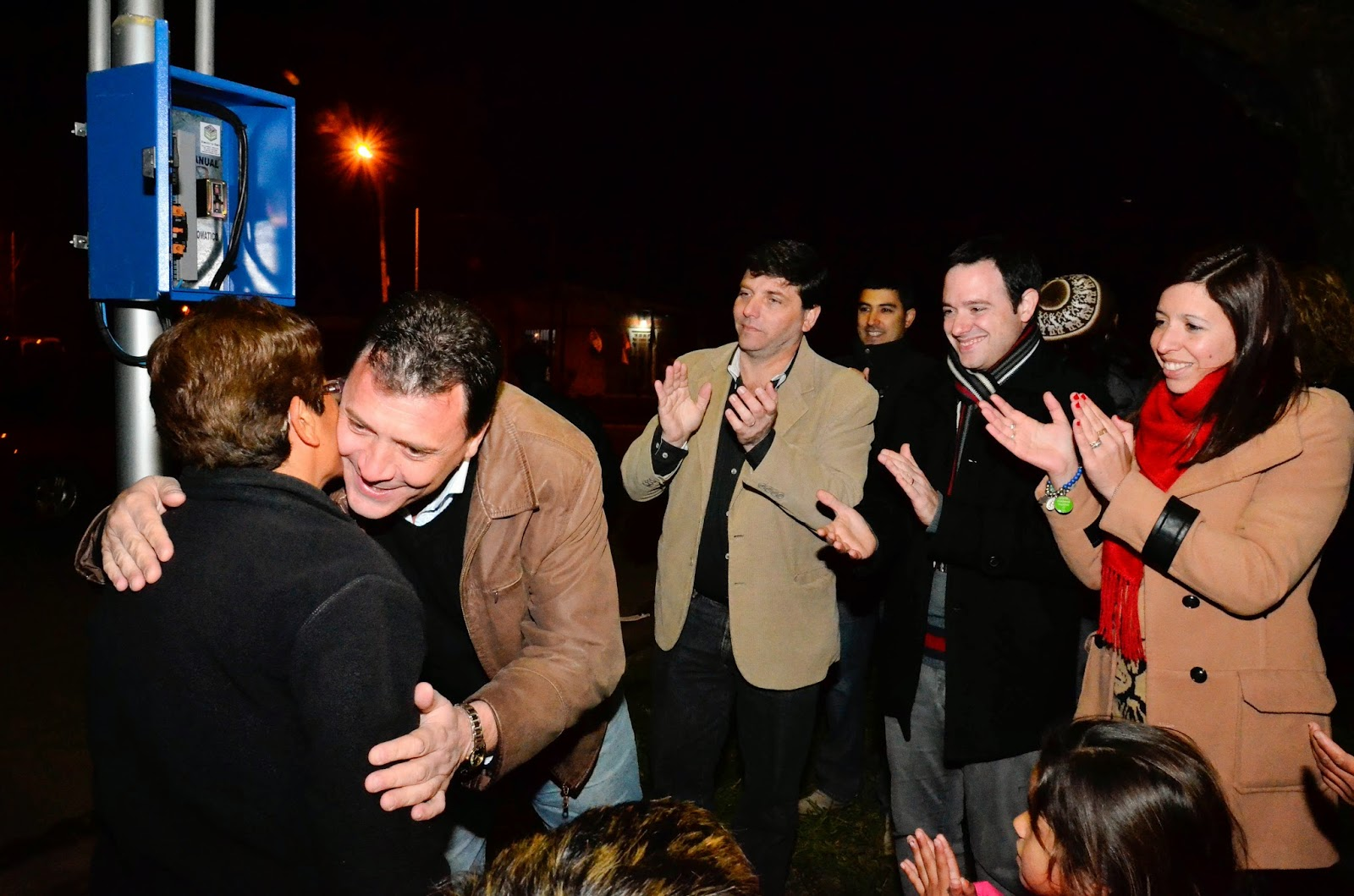 San Lorenzo sumó 9 cuadras de iluminación en zona sur
