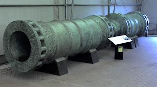 Imagen cañón de los Dardanelos utilizado en el toma de Constantinopla