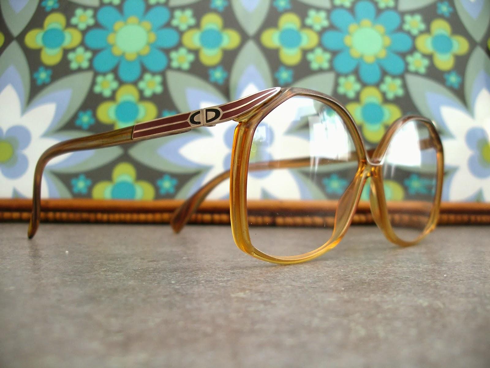 MeAndTheMajor: VENDIDAS - Gafas Christian Dior. Años 70 o primeros 80