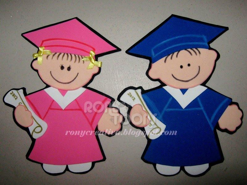 Moldes De Fomi Para Graduacion