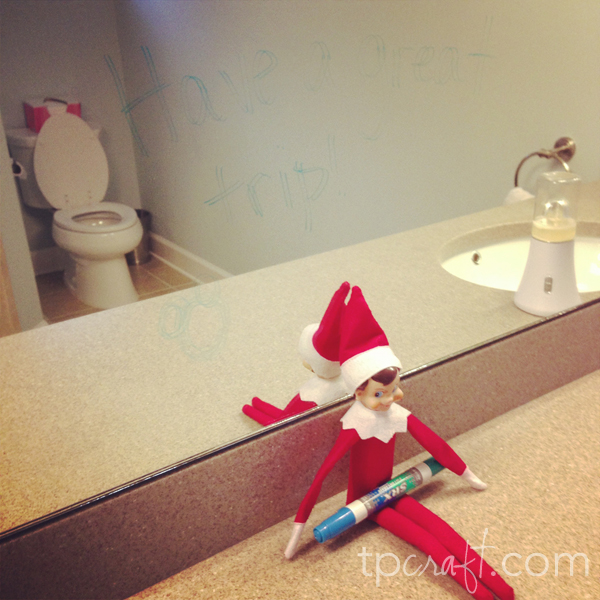 Elf On The Shelf {Day 8} title=