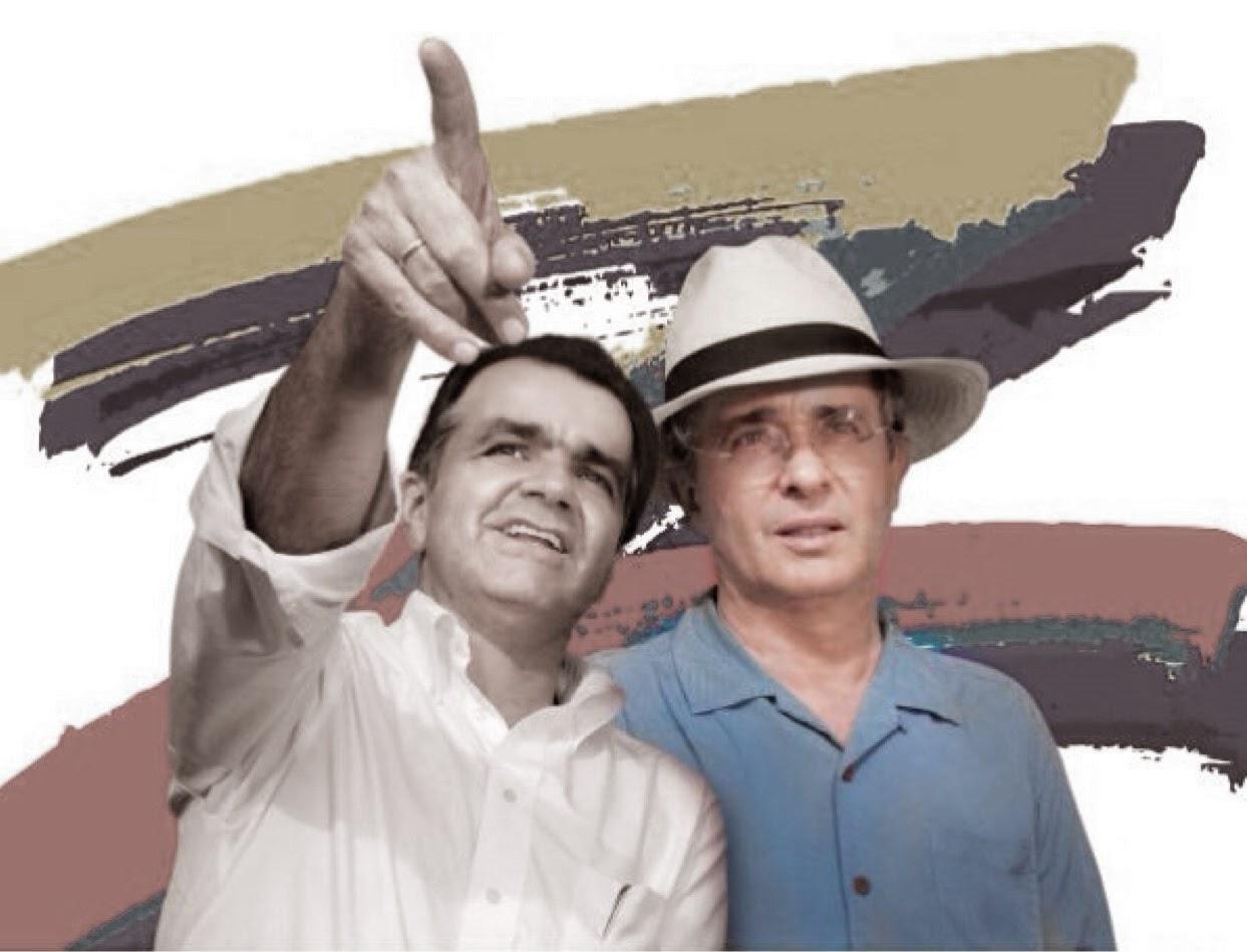 Zuluaga Presidente y Uribe