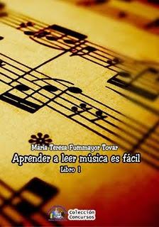 """A LA VENTA """"APRENDER A LEER MÚSICA ES FÁCIL"""" (LIBRO 1) DE MARÍA TERESA FUENMAYOR TOVAR"""
