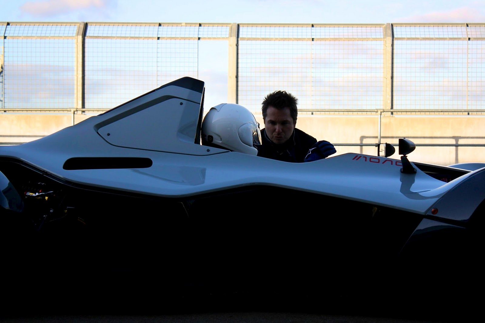 Bac Mono Silverstone Test Day Supervettura