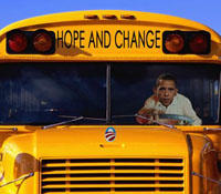 ObamaCare AstroTurf Bus
