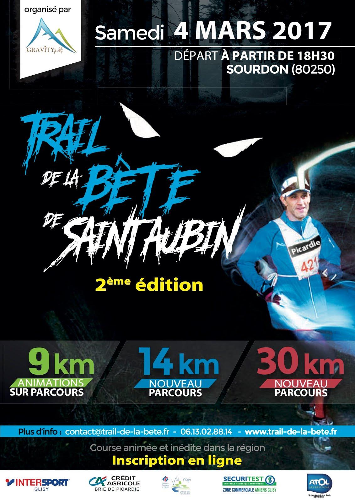 Trail De La Bête de Saint Aubin