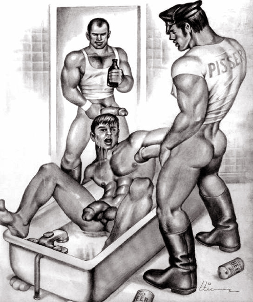 gay white man spank black boy