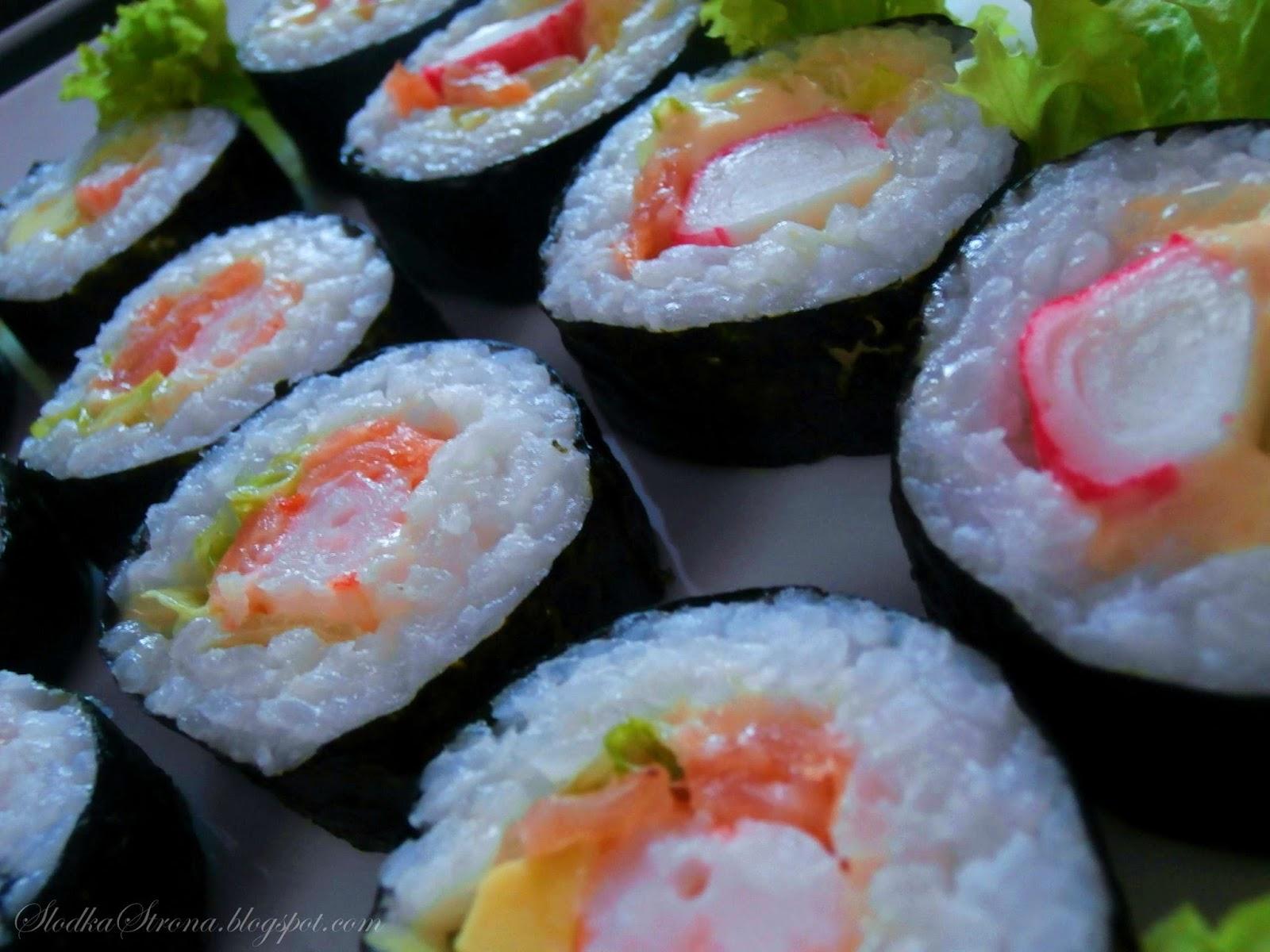 Sushi - Futomaki - Przepis - Słodka Strona