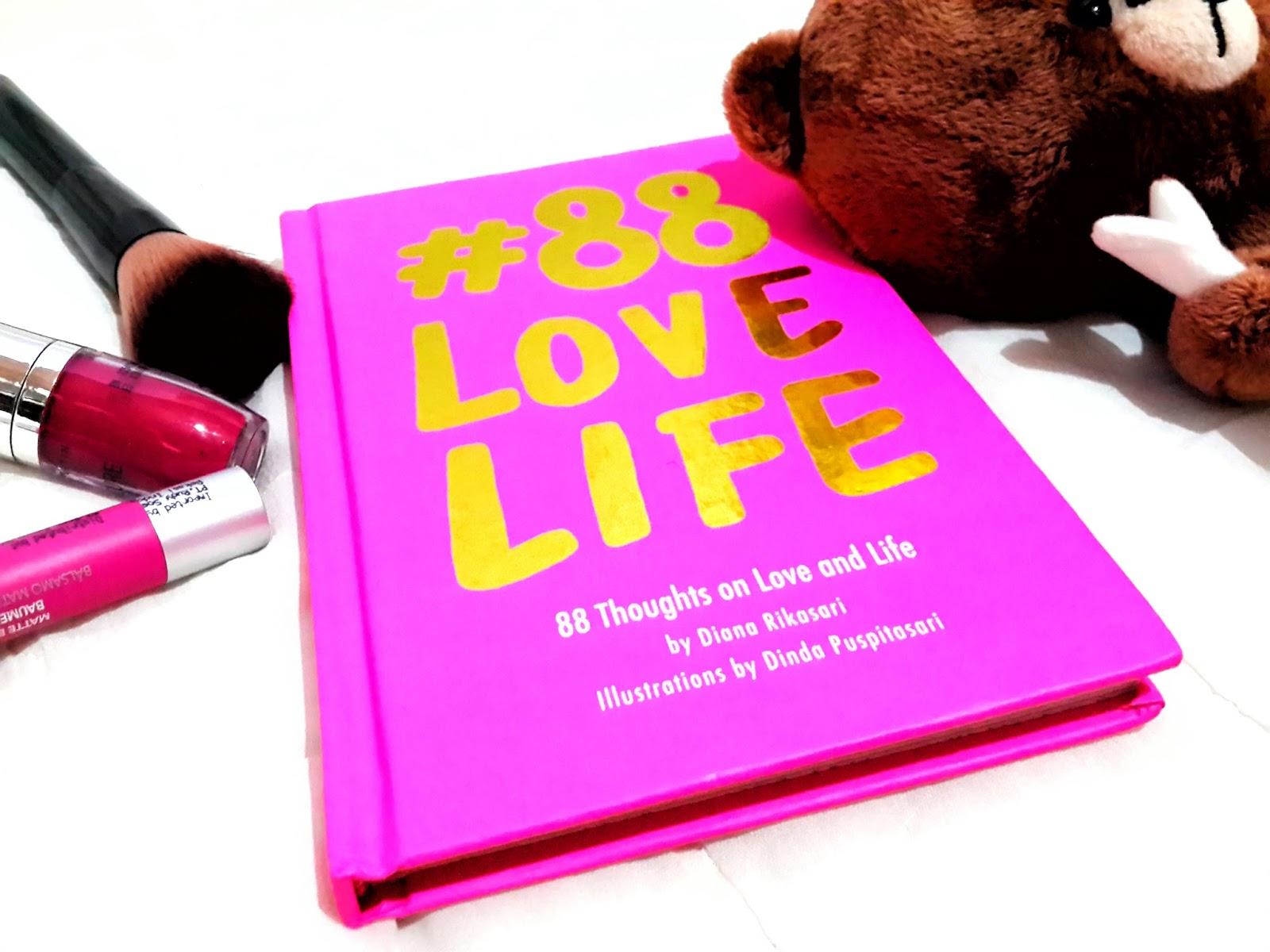 Buku 88 Love Life Diana Rikasari