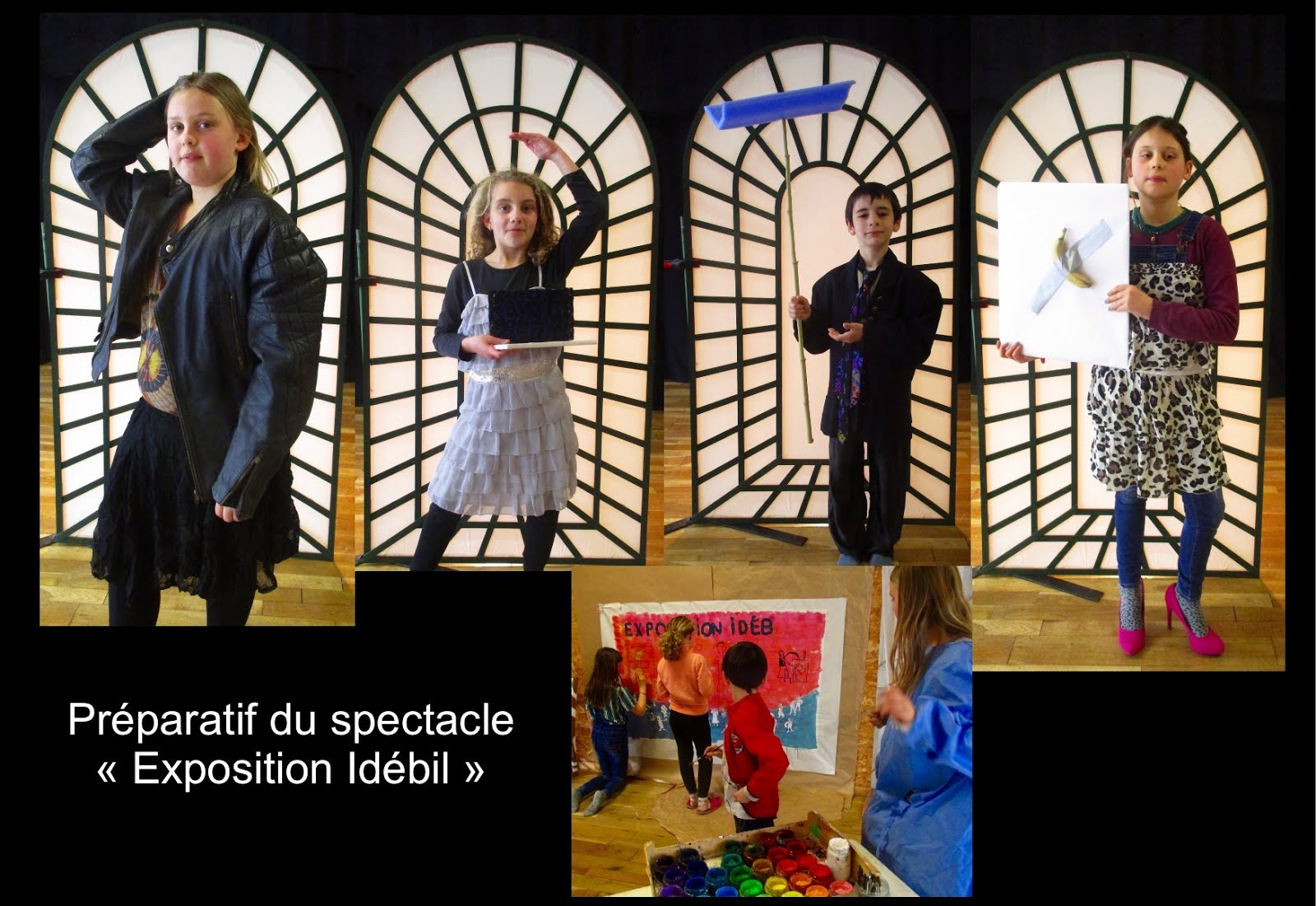 Atelier Théâtre et expressions enfants