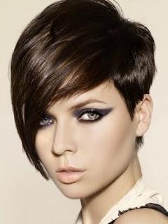 Účesy pre krátke vlasy - fotogaléria