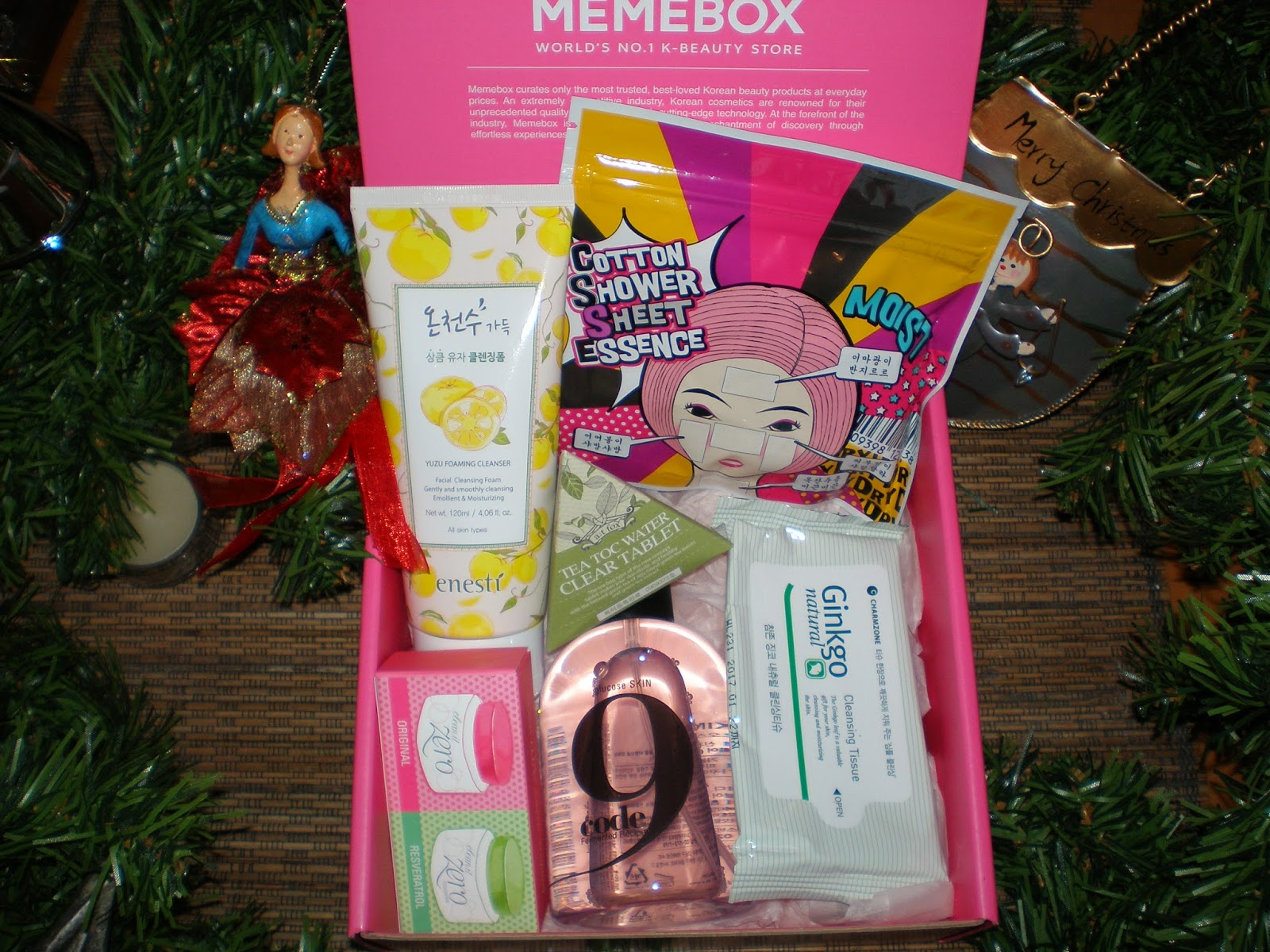 Unboxing Memebox Special #70 - Cleanse & Tone